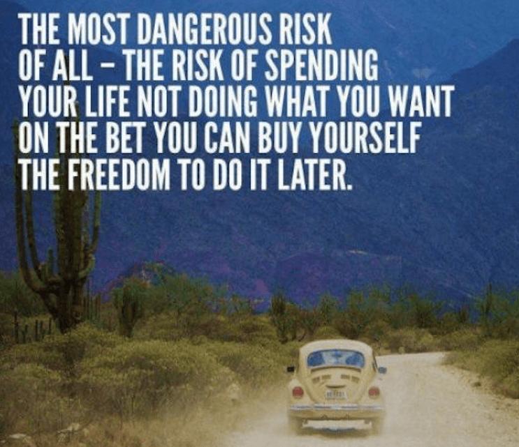 #3 Doe vandaag wat je wilt doen en niet morgen