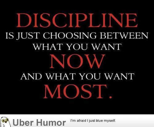 #17 Discipline