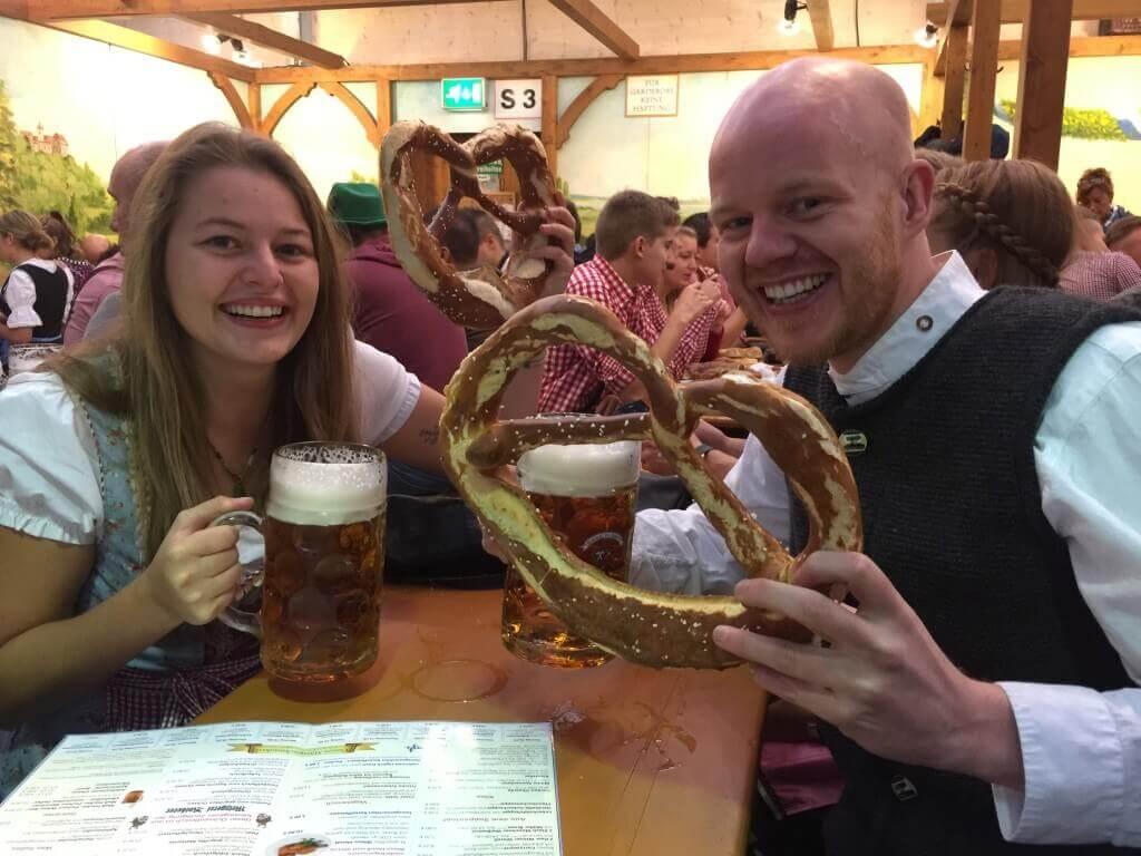 Bier op Oktoberfest (LodiPlanting.com)
