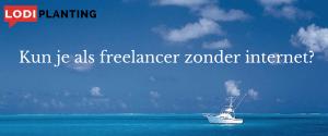 Kun je als freelancer zonder internet-