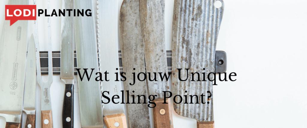 Wat is jouw Unique Selling Point?