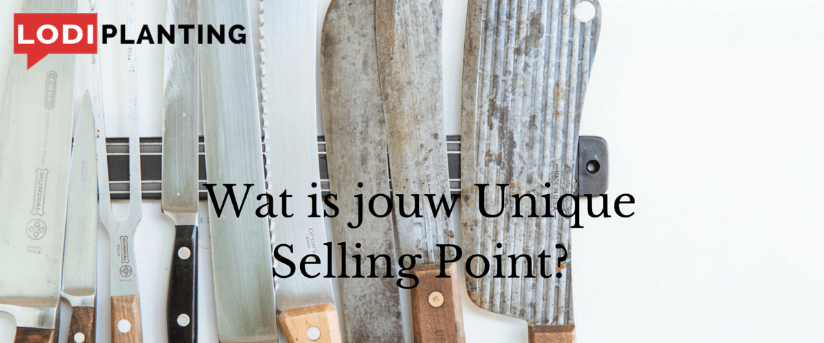 Wat is jouw Unique Selling Point?