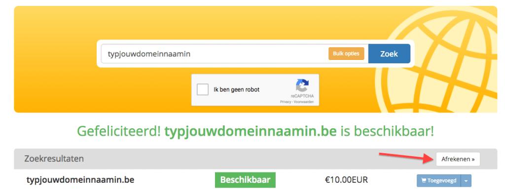 Reken je domeinnamen en extensies af (LodiPlanting.com)