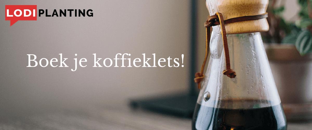 Boek je koffieklets! (LodiPlanting.com)