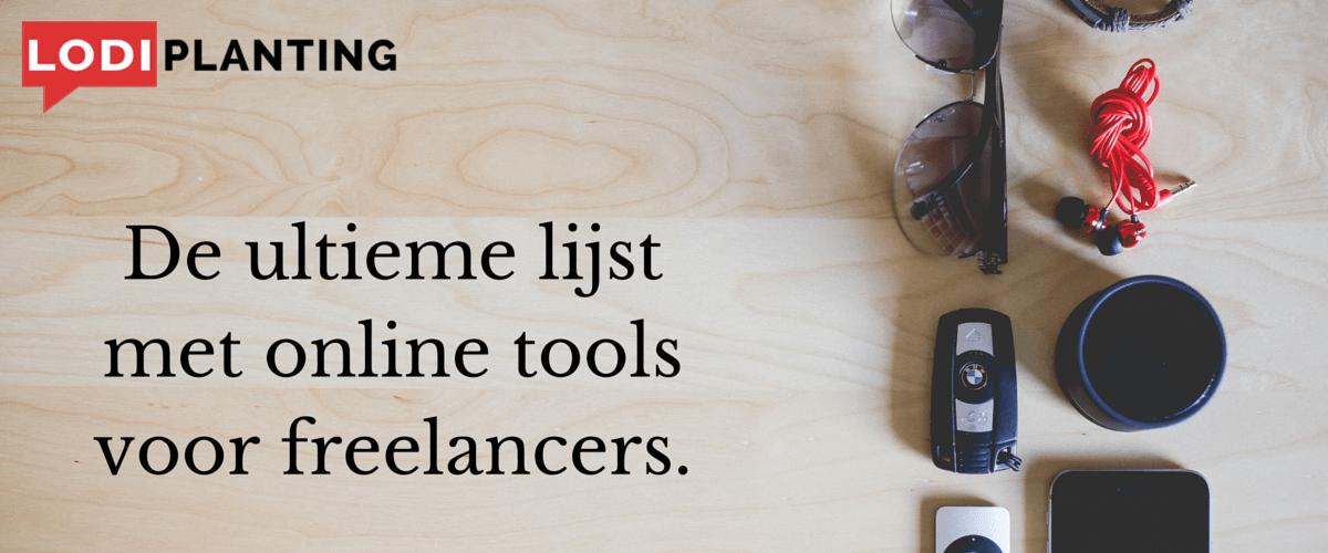 De ultieme lijst met online tools voor freelancers.(www.LodiPlanting.com)