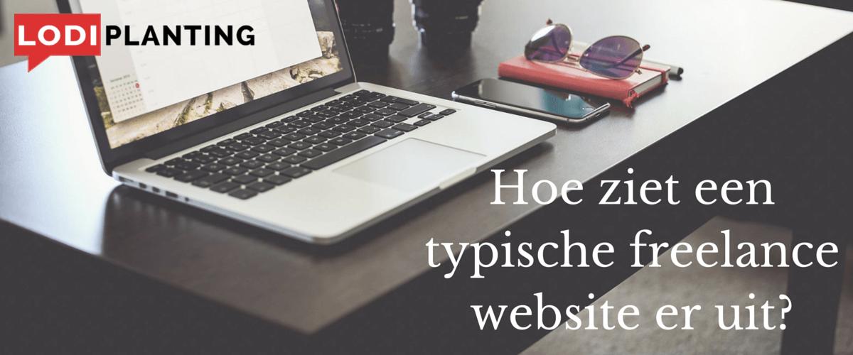 Hoe ziet een typische freelance website er uit- (LodiPlanting.com)