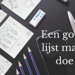 Een goede todo-lijst maken. Hoe doe je dat-(LodiPlanting.com)