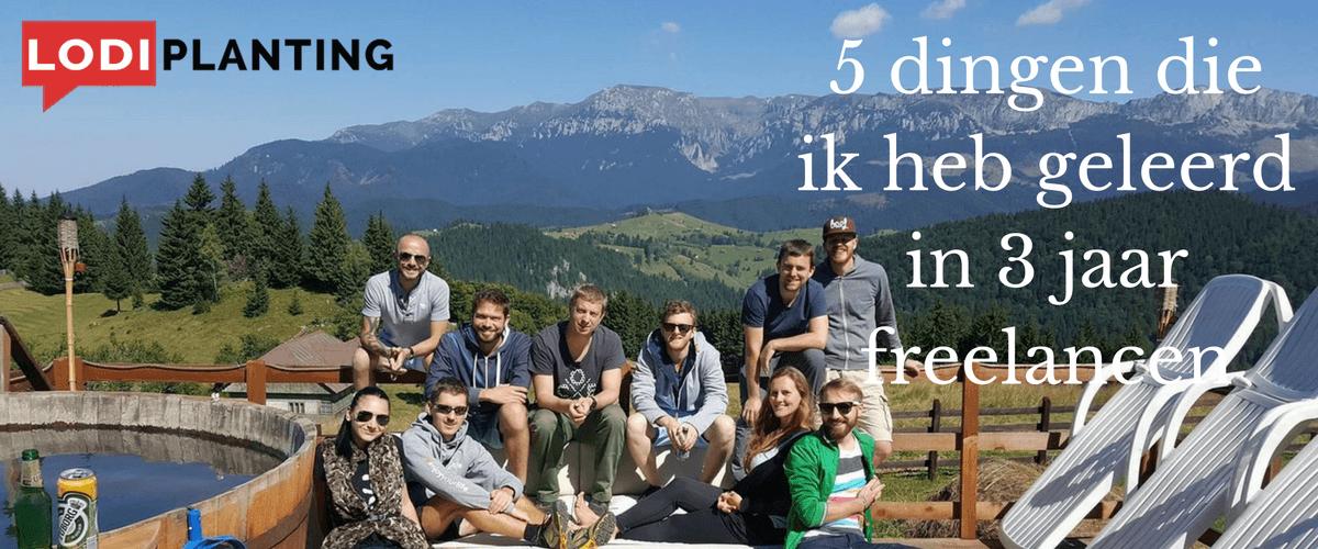5 dingen die ik heb geleerd in 3 jaar freelancen (LodiPlanting.com)