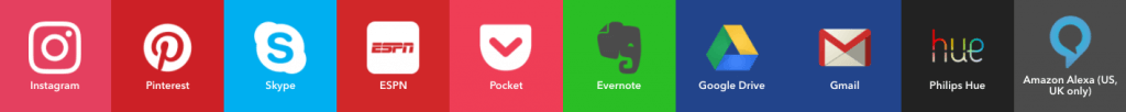 IFTTT applet mogelijkheden