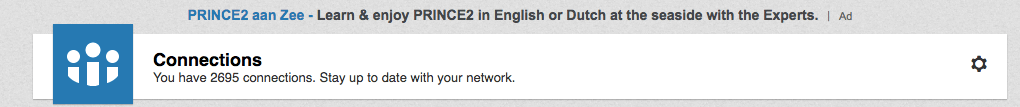 LinkedIn contacten