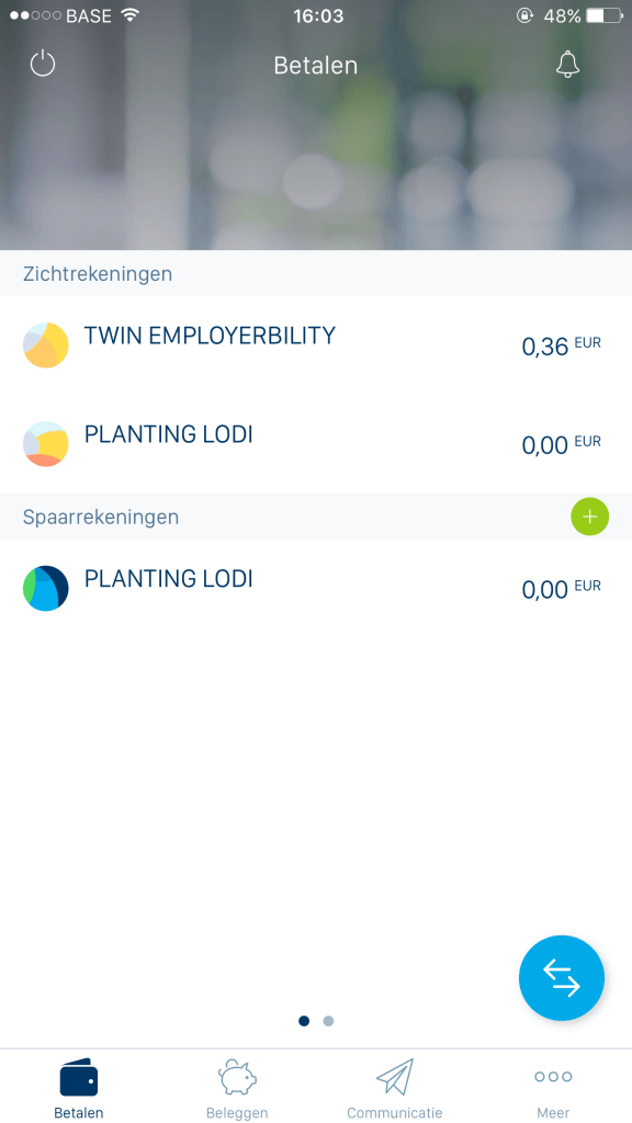 Bankafschrift (LodiPlanting.com)
